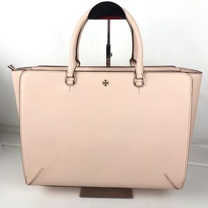 Tory Burch Lg Robinson Leather Zip Tote 11169761